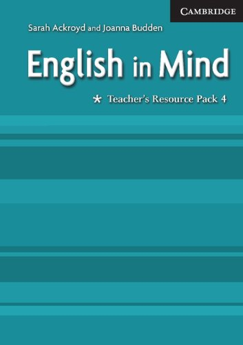 9780521682718: English in Mind *Teacher's Resource Pack 4