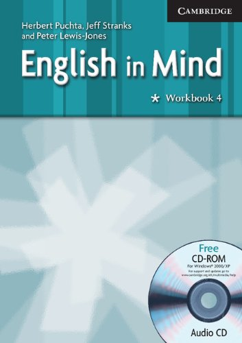 9780521682725: English in Mind 4 Workbook with Audio CD/CD-ROM