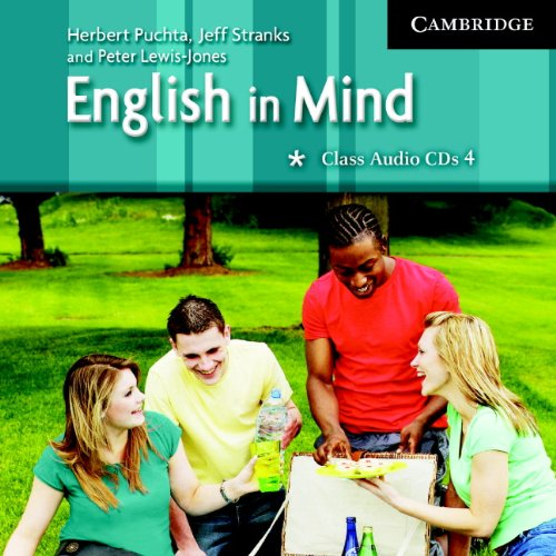 9780521682749: English in Mind 4 Class Audio CDs (3)