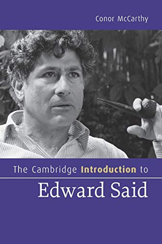 9780521683050: The Cambridge Introduction to Edward Said (Cambridge Introductions to Literature)