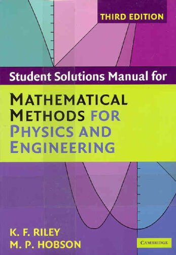 9780521683395: Mathematical Methods for Physics and Engineering Third Edition Paperback Set