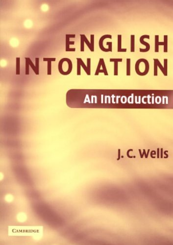 9780521683807: English Intonation PB and Audio CD 1 Paperback, 1 CD-Audio: An Introduction (Book & CD)
