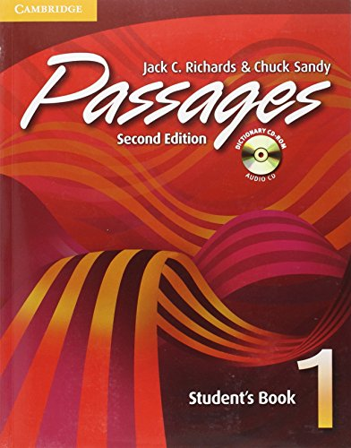 9780521683869: Passages Student's Book 1 with Audio CD/CD-ROM: An Upper-Level Multi-Skills Course