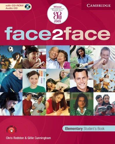 9780521684095: Face2face. Elementary. Con espansione online. Per le Scuole superiori. Con CD-ROM