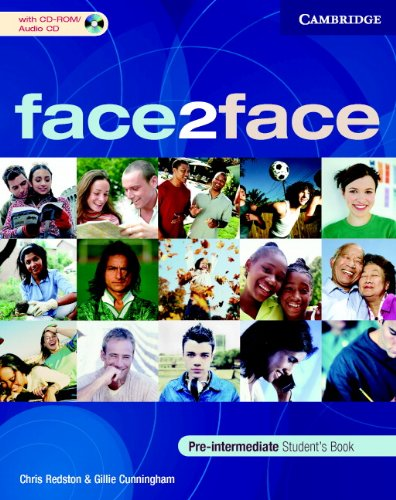9780521684118: face2face Pre-Intermediate Student's Book with CD-ROM/Audio CD and Workbook Pack Italian Edition