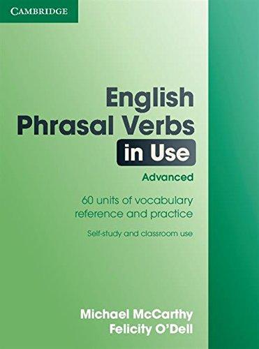 9780521684187: English Phrasal Verbs in Use: Advanced