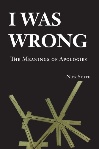 9780521684231: I Was Wrong: The Meanings of Apologies