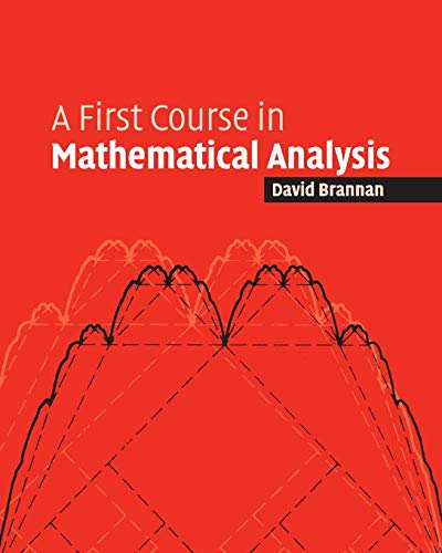 9780521684248: A First Course in Mathematical Analysis Paperback