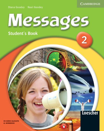 9780521684385: Messages. Level 2. Student's pack. Con espansione online. Con CD Audio. Per la Scuola media