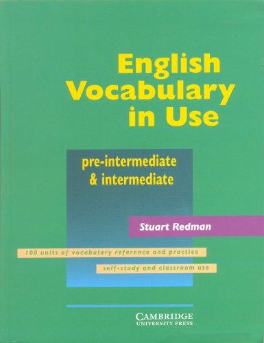 9780521684576: English vocabulary in use Pre-intermediate & intermediate