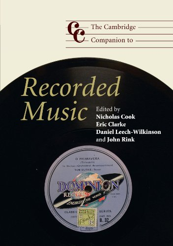 9780521684613: The Cambridge Companion to Recorded Music (Cambridge Companions to Music)