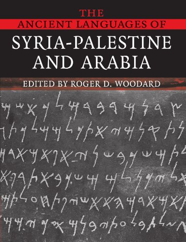 9780521684989: The Ancient Languages of Syria-Palestine and Arabia Paperback