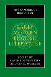 9780521684996: The Cambridge History of Early Modern English Literature Paperback (The New Cambridge History of English Literature)
