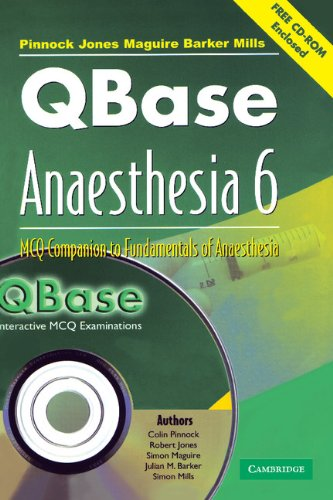 9780521685054: QBase Anaesthesia with CD-ROM: Volume 6, MCQ Companion to Fundamentals of Anaesthesia (v. 6)