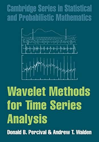 9780521685085: Wavelet Methods for Time Series Analysis