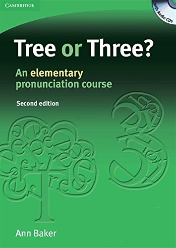 9780521685276: Tree or Three? Student's Book and Audio CD: An Elementary Pronunciation Course