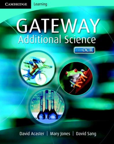 9780521685412: Cambridge Gateway Sciences Additional Science Class Book