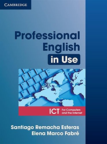 9780521685436: Professional English in Use ICT Student's Book [Lingua inglese]