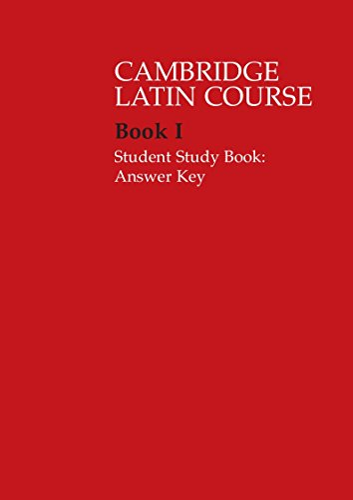 9780521685924: Cambridge Latin Course 1 Student Study Book ...