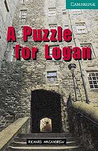 9780521686396: A Puzzle for Logan Level 3 Lower Intermediate Book with Audio CDs (2) Pack