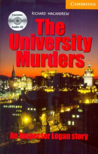 9780521686419: The University Murders Level 4 Intermediate Book with Audio CDs (3) Pack (Cambridge English Readers)