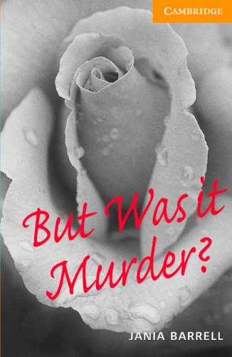 9780521686594: CER4: But Was it Murder? Level 4 Intermediate Book with Audio CDs (2) Pack: Intermediate Level 4 (Cambridge English Readers)