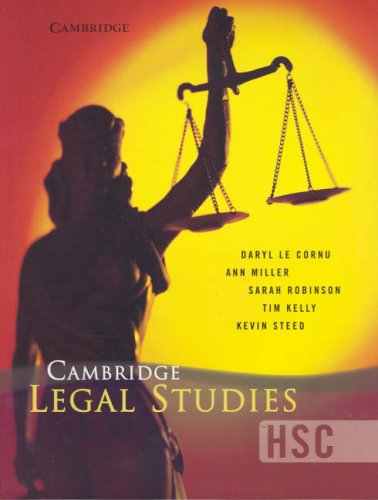 Cambridge HSC Legal Studies: Daryl Le Cornu