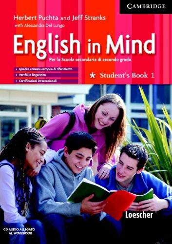 9780521687065: English in mind. Workbook-Student's book-Grammar practice. Con CD Audio. Per le Scuole superiori: 1