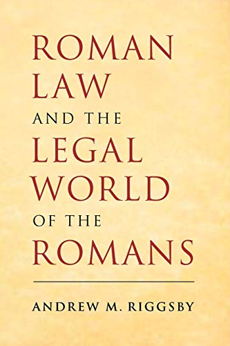 9780521687119: Roman Law and the Legal World of the Romans