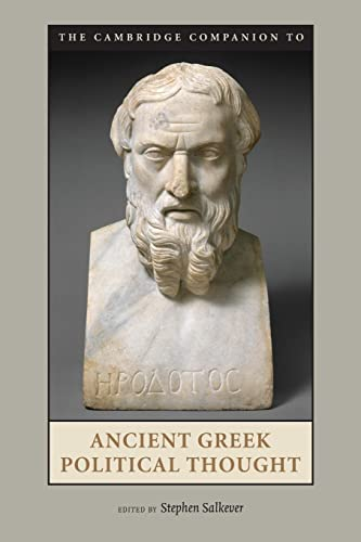 9780521687126: The Cambridge Companion to Ancient Greek Political Thought Paperback (Cambridge Companions to the Ancient World)