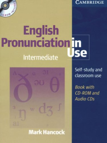 9780521687522: English Pronunciation in Use Intermediate with Answers, Audio CDs and CD-ROM