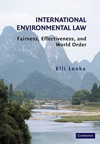 9780521687591: International Environmental Law: Fairness, Effectiveness, and World Order