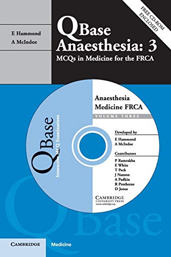9780521687959: Qbase Anaesthesia: Volume 3, MCQs in Medicine for the FRCA (v. 3)