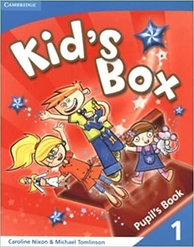 9780521688017: Kid's Box 1 Pupil's Book