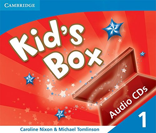 9780521688055: Kid's Box 1 Audio CDs (3): Level 1