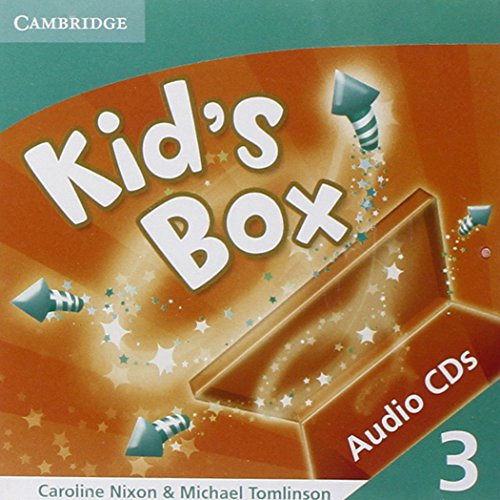 9780521688178: Kid's Box 3 Audio CDs (2)