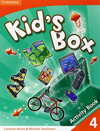 9780521688192: Kid's Box 4 Activity Book