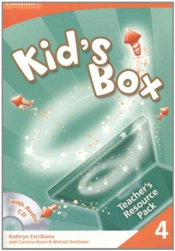 9780521688215: Kid's Box 4 Teacher's Resource Pack with Audio CD