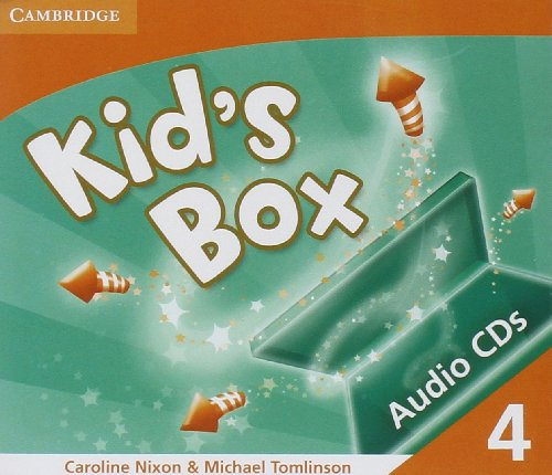 9780521688222: Kid's Box 4 Audio CDs (3)