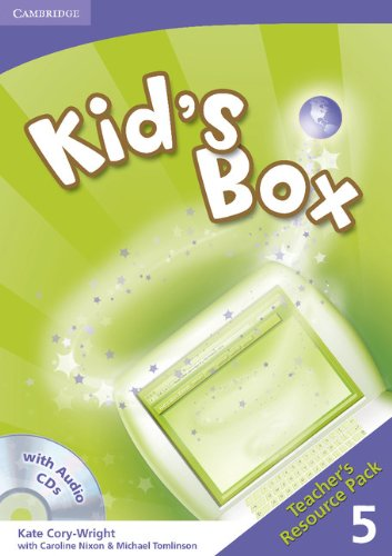 9780521688260: Kid's Box 5 Teacher's Resource Pack with Audio CDs (2)