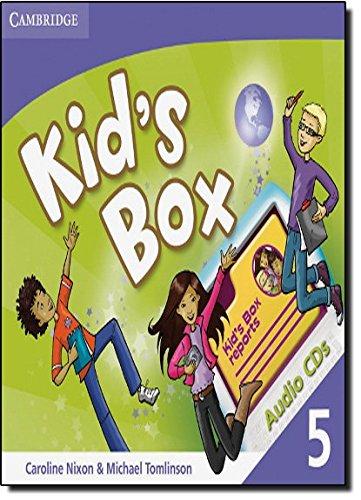 9780521688277: Kid's Box 5 Audio CDs (3)