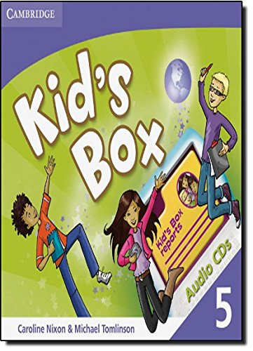 9780521688277: Kid's Box Level 5 Audio CDs (3)