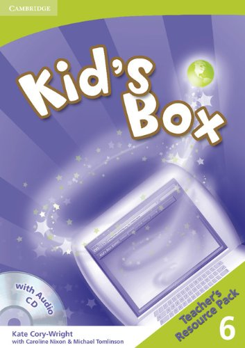9780521688314: Kid's Box 6 Teacher's Resource Pack with Audio CD