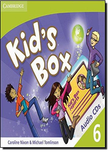 9780521688321: Kid's Box 6 Audio CDs (3) - 9780521688321