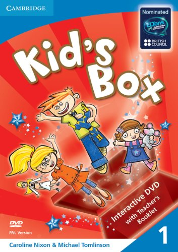 9780521688338: Kid's Box Level 1 Interactive DVD (PAL) with Teacher's Booklet