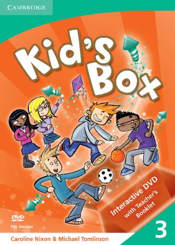 9780521688345: Kid's Box Level 3 Interactive DVD (PAL) with Teacher's Booklet