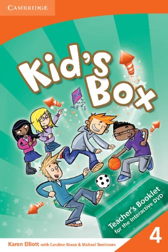 9780521688376: Kid's Box Level 4 Interactive DVD (PAL) with Teacher's Booklet