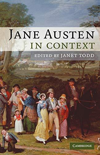9780521688536: Jane Austen in Context