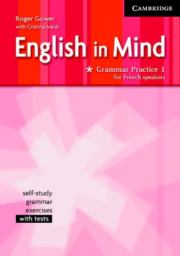 9780521688628: English in Mind Grammar Practice Level 1 French Edition