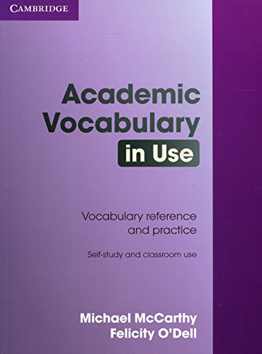 9780521689397: Academic Vocabulary in Use with Answers